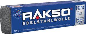 RAKSO® Edelstahlwolle Sorte Mittel 3   Paket mit 150 g 720300