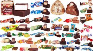 Russische Pralinen, Konfekt, Bonbons Mix 1 Kg карамельной Hergestellt in Russland