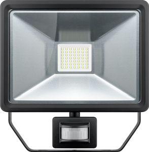 LED Außen-Flutlichtstrahler mit Bewegungsmelder, 50 W