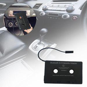 Bluetooth5.0 Kabellos Auto Kasettenadapter Kassette Adapter+ USB Freisprechanlag