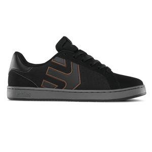 Etnies - Fader LS Sneaker Herren Skate Black Charcoal Gum Skateschuh 558 Größe 37 (US 5)