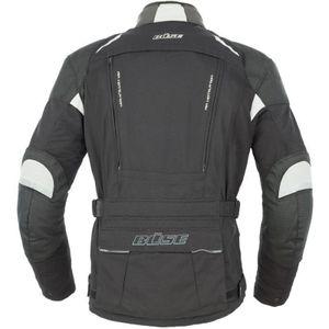 Büse Highland Textiljacke schwarz / grau Herren 30