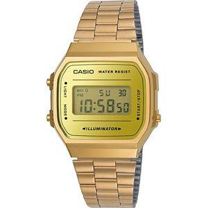Casio Retro Uni Uhr A168WEGM-9EF Casio Collection Armbanduhr