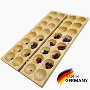 Hus/Bao Brettspiel,Steinchenspiel,African Tactical Game,Montessori, Waldorf,