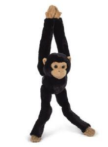 Plüschtier Schimpanse, Affe, 54 cm, Hängeaffe Affen Hängeaffen Kuscheltiere Stofftiere Magnet