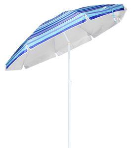 Sonnenschirm Strandschirm Schirm Kippgelenk Kippmechanismus Knickbar 200 cm