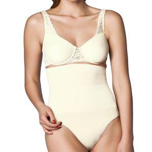 Miss Perfect Shapewear Damen - Bauchweg Unterhose Damen (S-XXL) Body Shaper seamless Miederhose Damen Bauch weg Hose - nahtlos & formend, Farbe:Champagner (CH), Größe:XL