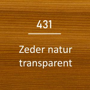 OSMO UV-Schutz-Öl 431 Farbig Zeder Natur 0,75L