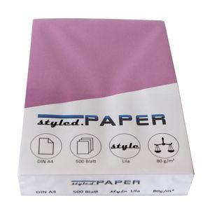 Kopierpapier Lila 500 Blatt 80g/m²
