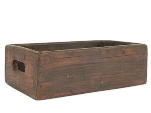 IB Laursen Holzkiste mit Griffen UNIKA 30 cm