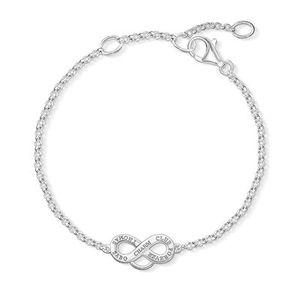 Thomas Sabo Armband X0204-001-12-L19,5v Charm Sterling Silber