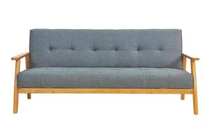 Sit Möbel SIT4SOFA Schlafsofa   L 188 x B 85 x H 81 cm    dunkelgrau, braun   06033-21   Serie SIT4SOFA