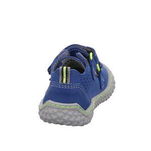 Ricosta Kinder Halbschuhe Klettschuhe Leder blau 23