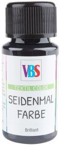 VBS Seidenmalfarbe, 50 ml Tiefschwarz