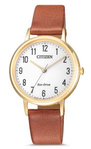 Citizen Leather EM0578-17A Damenarmbanduhr