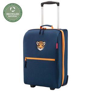 Reisenthel Kinder Trolley Reisetasche Koffer Handgepäck Reisegepäck Rollranzen, Farbe:tiger navy