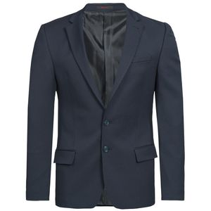 Größe 90 Greiff Corporate Wear Basic Herren Sakko Slim Fit Marine Dunkelblau Modell 1132 7007