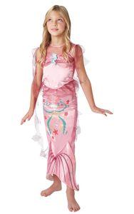 Pinke Meerjungfrau Kostüm - Kind, Größe:S