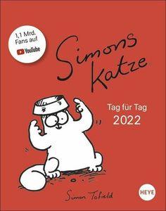 Simons Katze Tagesabreißkalender - Kalender 2022