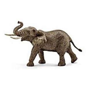 Schleich - Tierfiguren, Afrikanischer Elefantenbulle; 14762