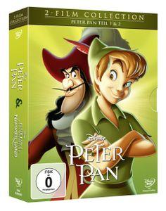 Peter Pan 1+2, Doppelpack DVD