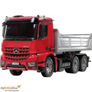 Tamiya 1:14 RC Truck - LKW MB Arocs 3348 3 Achs Kipper Vorlackiert