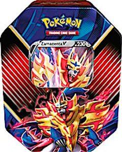 POK Pokémon Tin 86-Zamazenta-V
