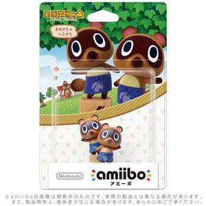 amiibo Animal Crossing - Nepp und Schlepp (japanische Version)