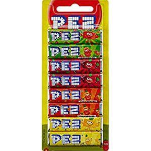 PEZ Bonbons Fruit Mix für PEZ Spender Laktose und glutenfrei 68g