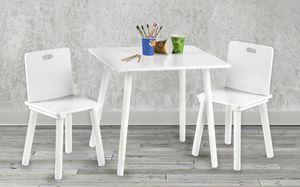 roba Tisch-Set 3-tlg., Farbe Weiß