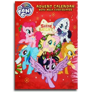 My Little Pony - BIP Adventskalender mit Schokolade, Schoko Weihnachts Kalender