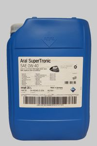 Aral SuperTronic 0W-40 20 Liter