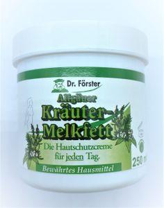 2 x 250 ml Dr. Förster Kräuter-Melkfett