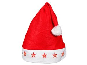 Weihnachtsmütze mit blinkenden mit Sternen, Modell wählen:Led Sterne