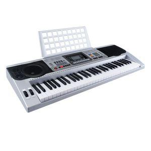 Keyboard Modern Digital 61 Tasten Keyboard Klavier E-Piano 128 Sounds Rhythmen Lernfunktion
