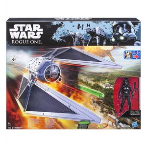 Star Wars Rogue One Fahrzeug - Tie-Striker mit 3.75 Figur