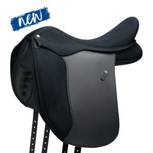WINTEC Pro Dressur Sattel WIDE, schwarz, 18 Zoll (46 cm)