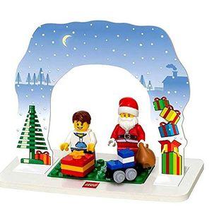 Lego Tischdeko Weihnachtsmann 29-teilig