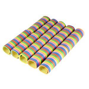 """10 Luftschlangen 4 m """"Stripes"""" flammhemmend"""
