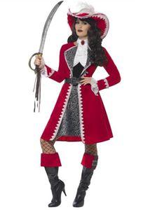 Damen Kostüm Piratenkapitän Piratin Karneval Fasching Gr.L