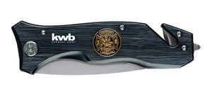 kwb Tools Rettungsmesser Fire Dept Klappklinge Länge 90mm
