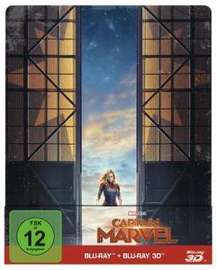 Captain Marvel - 2D & 3D Steelbook Edition [Blu-Ray] (Vö. Do. 18.07.19 KW 29)