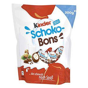 Kinder Schoko Bons einzeln gewickelte Vollmilchschokoladen Bons 300g
