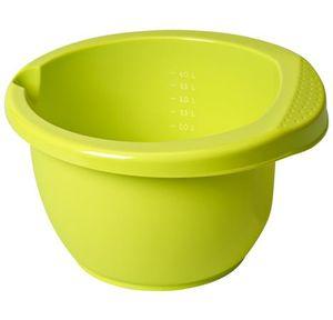 Rotho Rührschüssel Onda 4 l Lime Grün