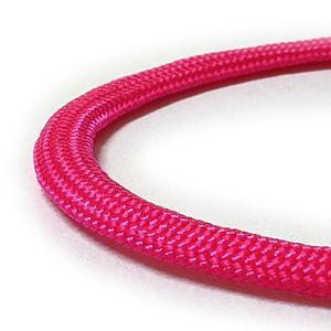 Paracord 550 Fallschirmschnur Schnüre Nylonleine 5 m,  Farbe-5 Hot Pink