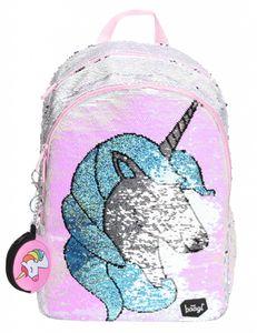 Einhorn Rucksack für Mädchen – Pailetten Schulrucksack Mädchen Teenager mit Unicorn - Schultasche für Kinder Jugendliche (Fun Unicorn)