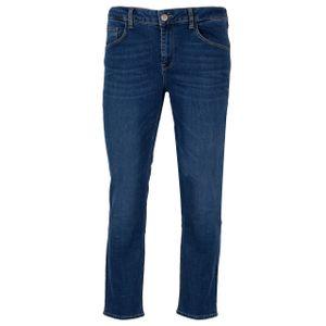 GIN TONIC Damen Slim Jeans Blue Wash, Größe:32/32, Farbe:Blue Wash
