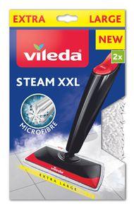 Vileda 161717 Steam XXL - Dampfbesen Nachfüllpackung, Farbe White