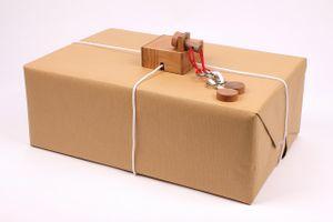KEEPR - Der Geschenkesafe - Kreatives Geduldsspiel als Geschenkverpackung für Erwachsene und Kinder, Modell:Fort Knox