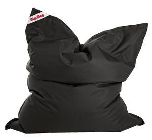 Sitzsack BigBag Brava, Größe ca. 130 x 170 cm,  Schwarz